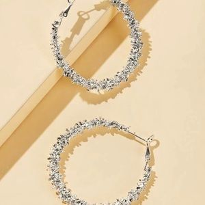 Metallic hoops
